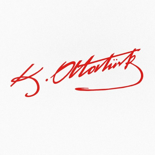 Kemal Atatürk İmza Sticker Oto Sticker 25x8 cm. (Renk Seçenekleri)