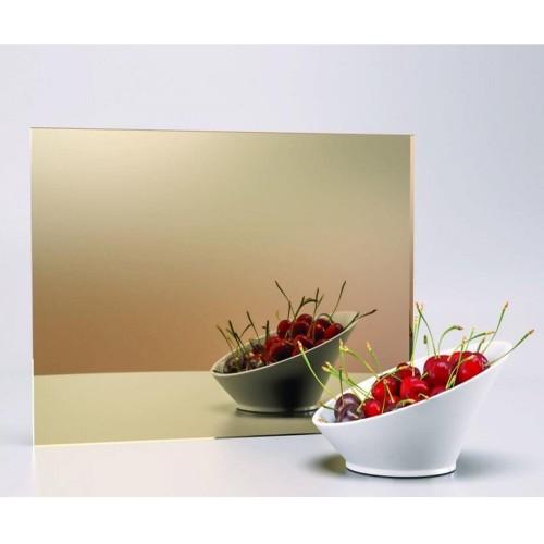 Özel Kesim 2.8 mm Parça Altın Ayna Pleksi