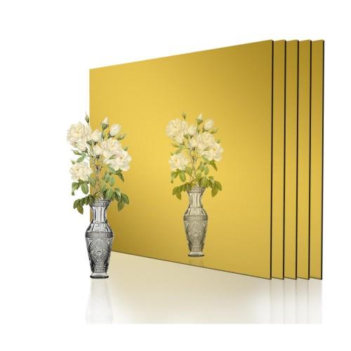 Özel Kesim 1.8 mm Parça Altın Ayna Pleksi
