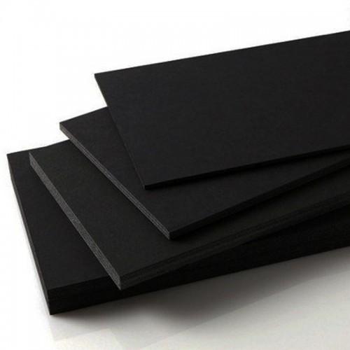 Özel Kesim 18 mm Parça Siyah Dekota (Foreks-PVC Foam)