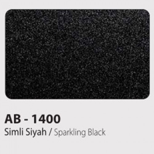 Simli Siyah Kompozit 125x320 cm.