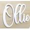Harf / Karakter Kesim Beyaz Pleksi 2.8 mm