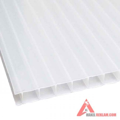 Beyaz Polikarbon 4 mm - 210x600 cm